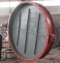 圆形电动挡板门
